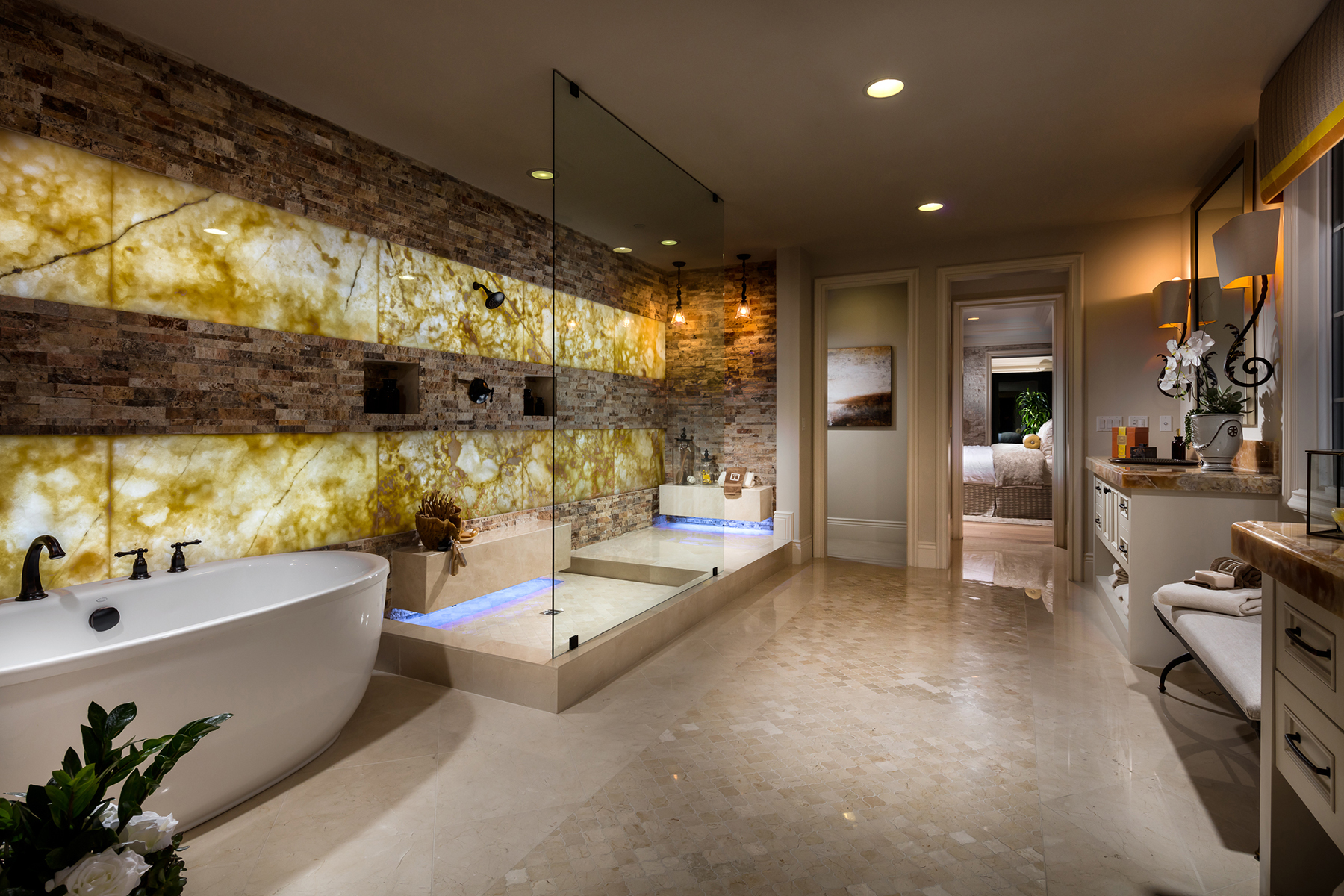 Santa Rosa Master Bathroom